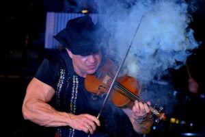 fiery violin